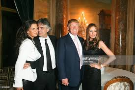 is trump at mar a lago donald trump hosts an evening with andrea bocelli photos and images