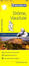 France Maps by 332 Drome Vaucluse Michelin Local Map France Maps Where Are