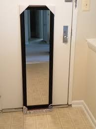 trendy behind the doors full length mirror for small spaces room