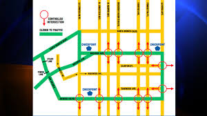 Traffic Map Los Angeles by Thousands Participate In 30th Annual Aids Walk Los Angeles Street