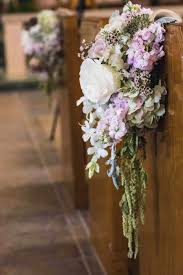 pew decorations for wedding pew decorations for weddings ideas horseshoe weddings church pew
