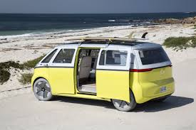 volkswagen hippie van name vw re imagines the u002760s microbus with this new all electric van