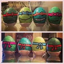 Disney Easter Egg Decorating Kit by Decorated Eggs Ninja Turtles Love Pinterest Ninja Turtles