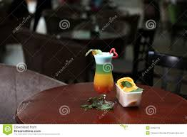 rainbow cocktail drink glass of rainbow cocktail stock image image of leaves 55094729