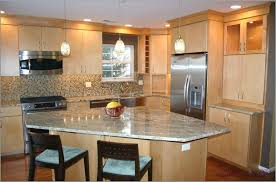 Custom Kitchen Countertops Kitchen Maple Kitchen Cabinets With Granite Countertops Italian