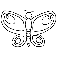 butterfly outline printable az coloring pages u2013 gclipart com