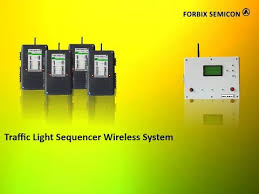 wireless traffic light controller system sequencer forbix