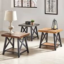 Rustic Coffee And End Tables Rustic Coffee Console Sofa End Tables For Less Overstock