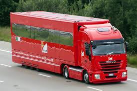 ferrari truck racecarsdirect com sold used trailer hospitality ex ferrari