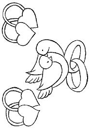 dessin mariage coloriage mariage 3 à colorier allofamille