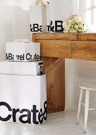 wedding registry store wedding registry benefits crate and barrel