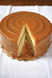 brown cake caramel cake recipe saveur