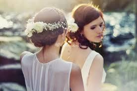 coiffure mariage boheme chignon mariage bohème de coiffure photo 3