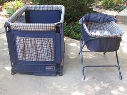 playpen with bassinet and changing table for sale