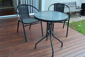 Ebay Patio Furniture Sets - beautiful round patio table and chairs with small black furniture