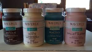 creative mess waverly brand chalk paint found at walmart