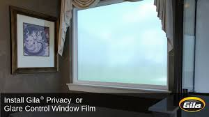 install gila privacy control or glare control window film youtube