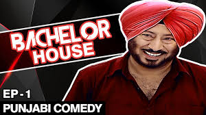 comedy film video clip jaswinder bhalla new comedy bachelor house punjabi comedy movies
