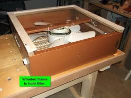 box fan filter woodworking box fan dust filter for fine airborne dust by trev batstone