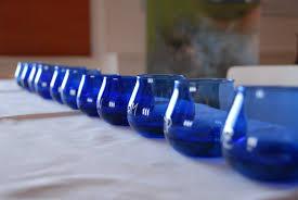 bicchieri degustazione olio bicchieri pronti per l assaggio olivomatto olivo matto
