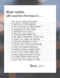 what do i get my for christmas dear santa writing a grown up christmas list positively present