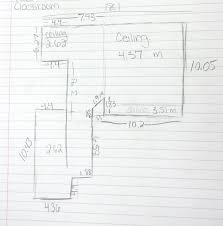 digital floor plans intro to stem room redesign measure floor plan hand drawn and