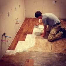Uneven Wood Floor Installing Vinyl Plank Flooring On Concrete U2013 Gurus Floor