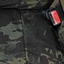 ballistic camo multicam classic black camouflage seat covers