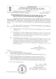 Tax Letter For Donation Dsw Maharashtra State
