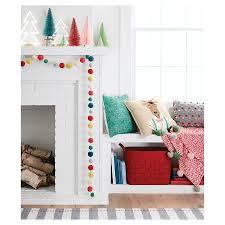 Target Office Decor Multicolor Pom Pom Garland Threshold Target Home