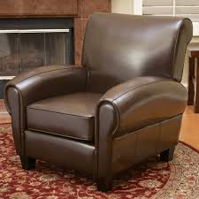 craig leather club chair u2013 noble house furniture