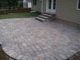 Backyard Stone Patio Ideas by Backyard Stone Patio Designs Home Design Inspiration Ideas And