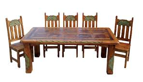 southwestern dining room furniture enthralling impressive design southwestern dining table all room