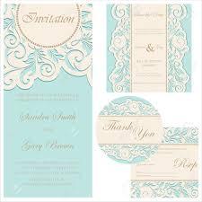 Wedding Invitation Rsvp Cards Wedding Invitation Set Wedding Invitation Thank You Card Save