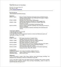 Machine Learning Resume International Resume Template Free Resume Templates International