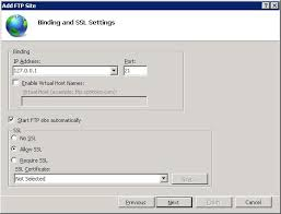 How To Make A Resume With No Job Experience Configure Ftp With Iis Manager Authentication In Iis 7 Microsoft