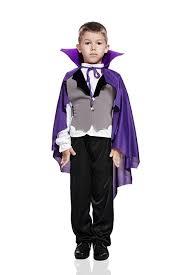 kids boys gothic vampire halloween costume count dracula dress up