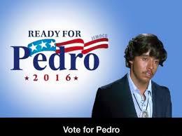 Vote For Me Meme - vote for pedro 2016 imgur