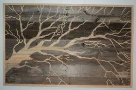 tree wood wall large indoor outdoor rustic tree pallet wood wall 4 foot
