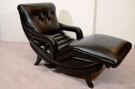 Furniture Mid Century Leather Recliner Mid Century Recliner