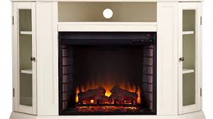 fe9314 claremont convertible media electric fireplace ivory