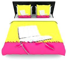 Barcelona Duvet Set Pink And Yellow Duvet Covers U2013 De Arrest Me