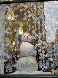 Pinterest Window Decorations For Christmas by Anthropologie Snowman Window Displays Snowman And Anthropologie