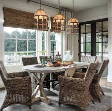 Farmhouse Style Dining Chairs Coastal Farmhouse Style Dining Room Home Bunch Interior Design Ideas