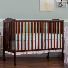 bedroom great baletto maki full size folding portable crib black