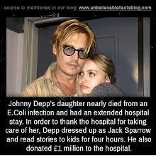 Johnny Depp Meme - source is mentioned in our blog wwwunbelievablefactsblogcom johnny