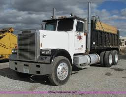 freightliner dump truck 1987 freightliner flc 64t dump truck item g9370 sold fe