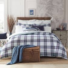 Eddie Bauer Rugged Plaid Comforter Set Tommy Hilfiger Surf Plaid Comforter Set U0026 Reviews Wayfair