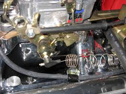 tv cable adjustment on edelbrock carb clash with my mechanic