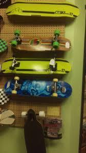 Skateboard Shelf We Sell Skateboards